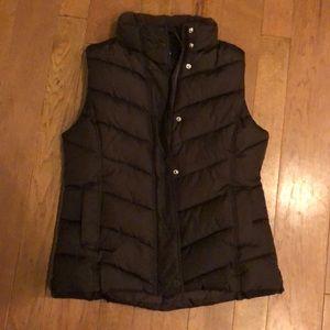 Gap brown vest medium